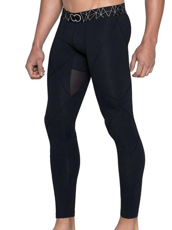 BLK Aktiv Compression Tights Leggings Black