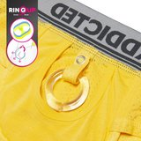 AD922 COCKRING Mesh brief Yellow_