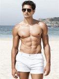2Eros Bondi Bar Beach Swim Shorts White_