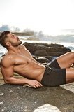 2Eros Bondi Bar Beach Swim Shorts Black_