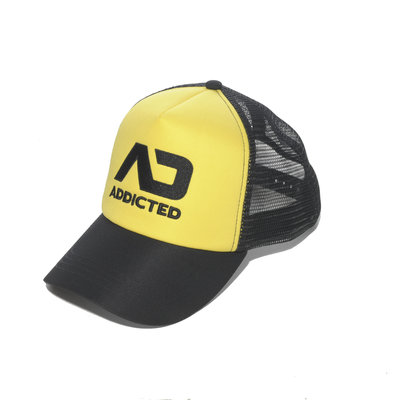 AD385 Addicted Cap Yellow