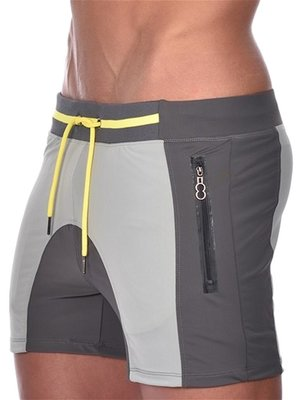 Pro Aktiv Gym Shorts Titanium