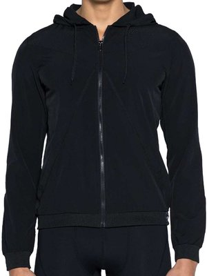 BLK Aktiv Windbreaker Jacket Black