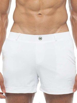 2Eros Bondi Bar Beach Swim Shorts White