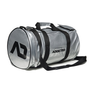 AD794 Gym Round Bag Silver